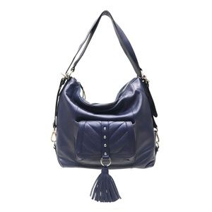 Sharif 3-in-1 Convertible Leather Backpack Hobo